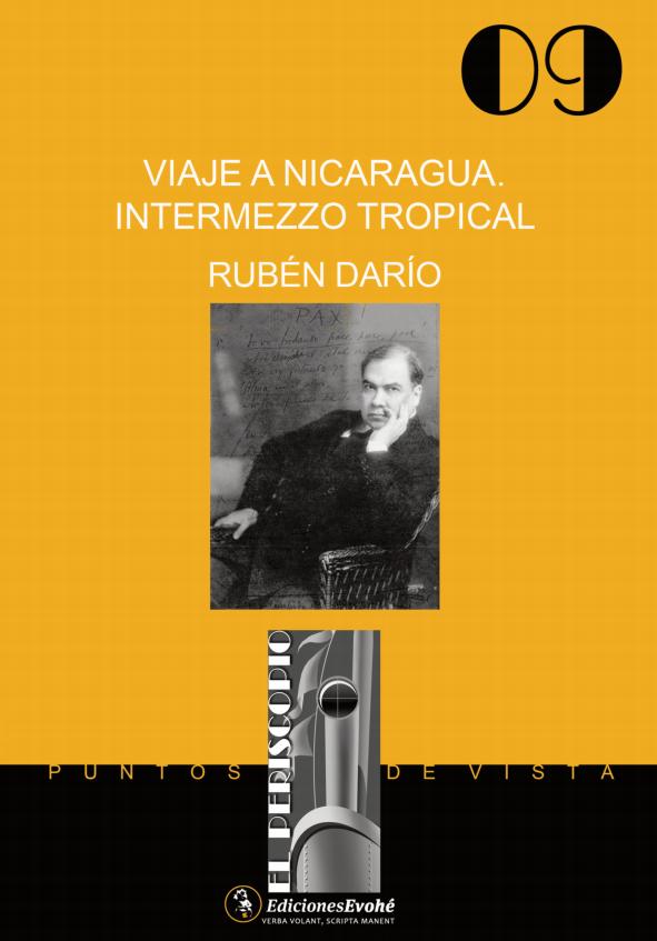 Viaje a Nicaragua. Intermezzo tropical – Rubén Darío